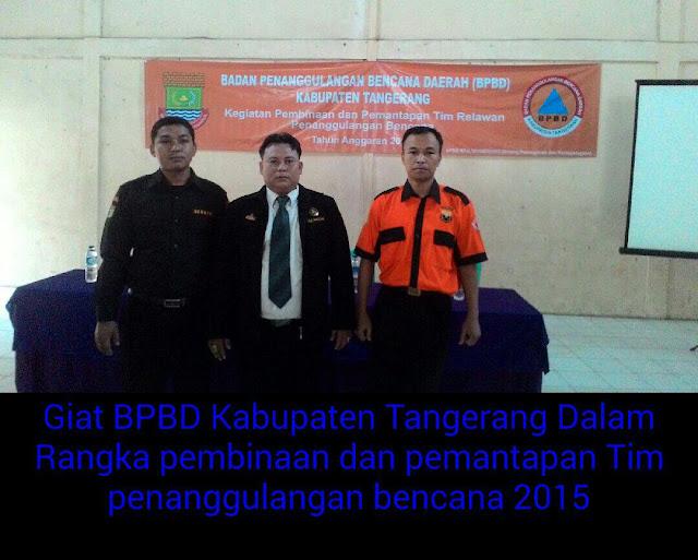Relawan Penanggulangan Bencana Daerah