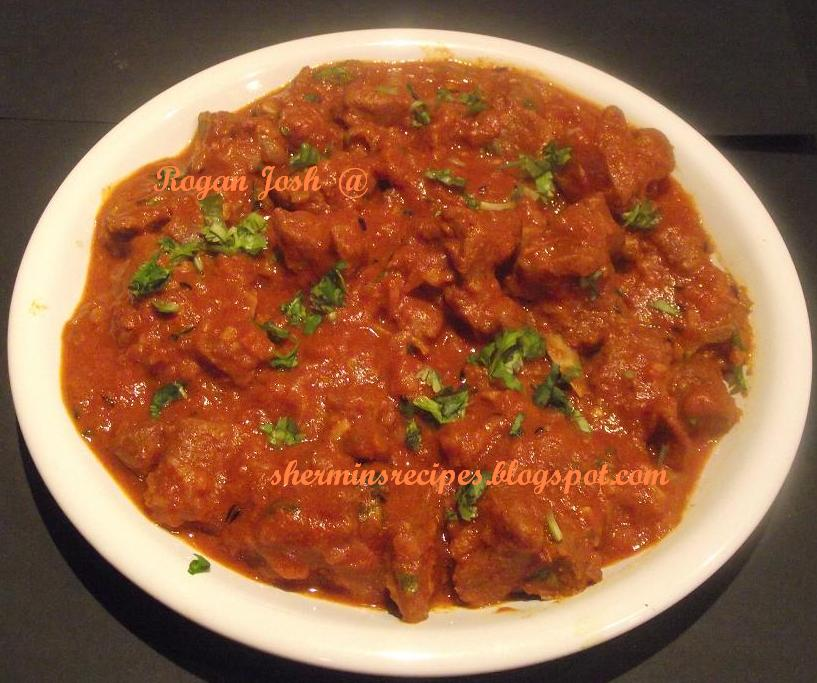 Shermin's Recipes: Rogan Josh
