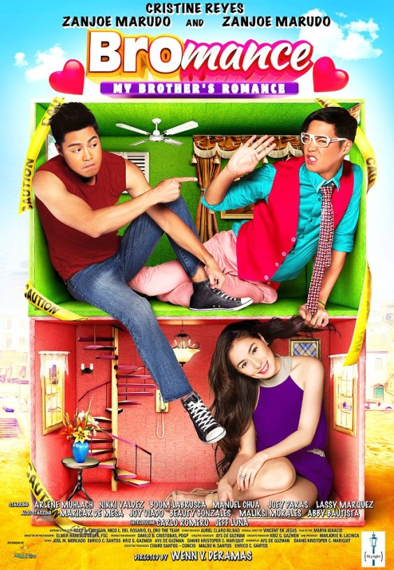 'Bromance' Starring Zanjoe Marudo and Cristine Reyes Movie Poster