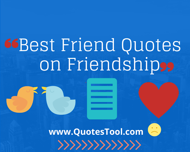 Best Friend Quotes on Friendship