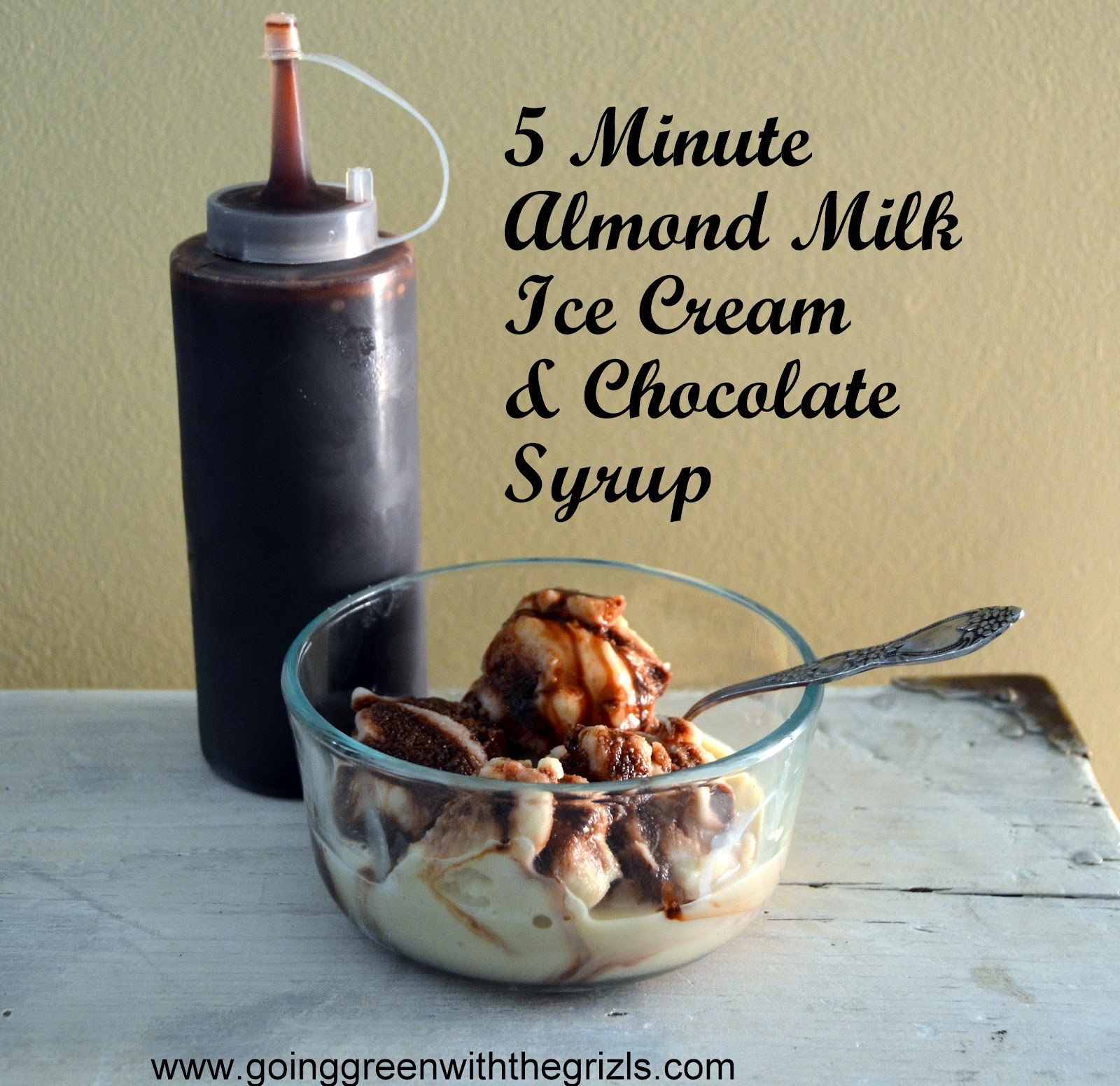 Homemade Almond Milk Ice Cream-in 5 Minutes! - Homespun Aesthetic