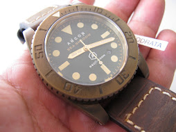 SOLD ANCON SEA SHADOW - SOLID BRONZE - AUTOMATIC