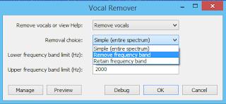 change removal choice audacity