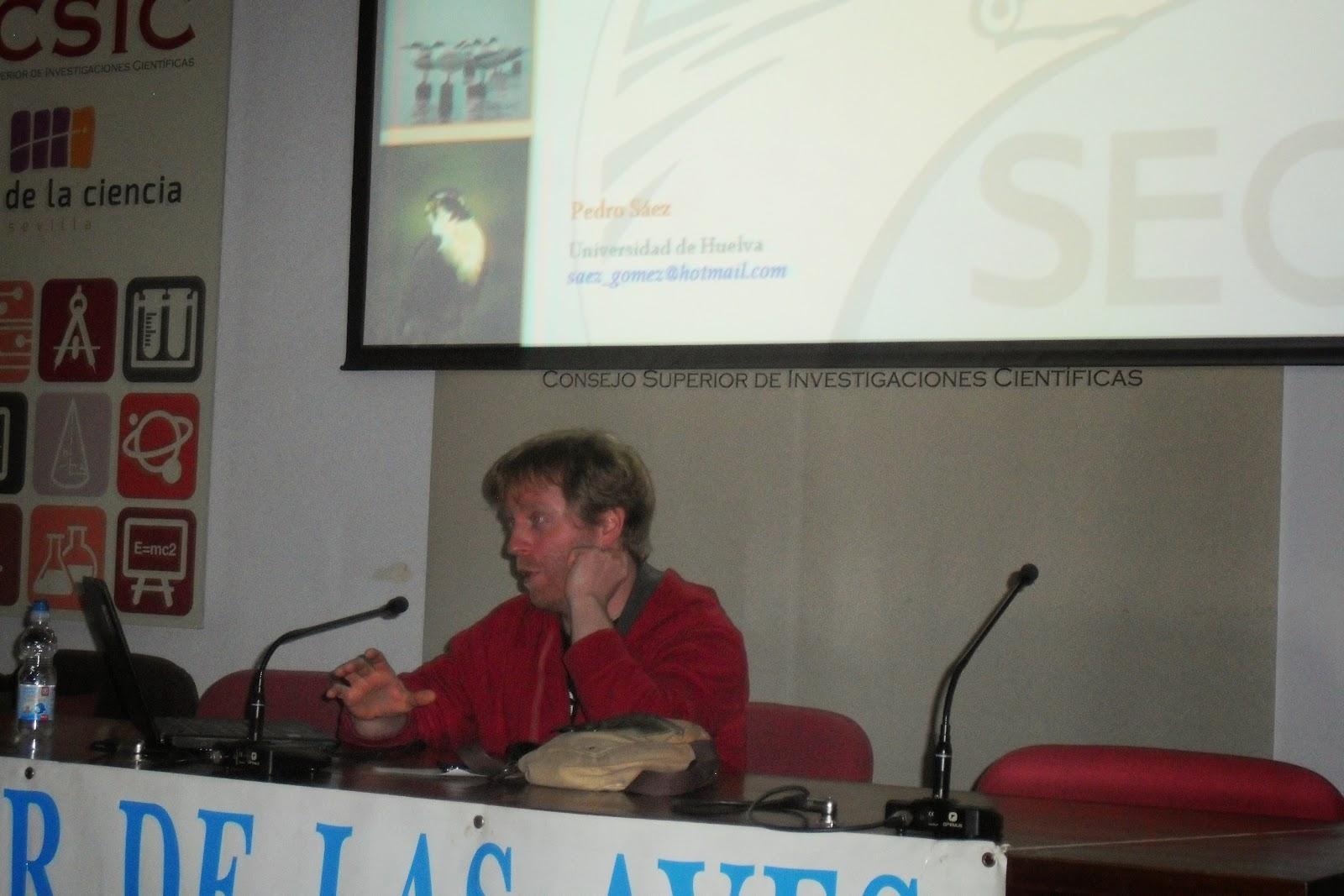 XV Curso de Iniciación a la Ornitología, Edición 2015. Organiza el Grupo Local SEO-Sevilla de SEO/BirdLife. Ponencias.