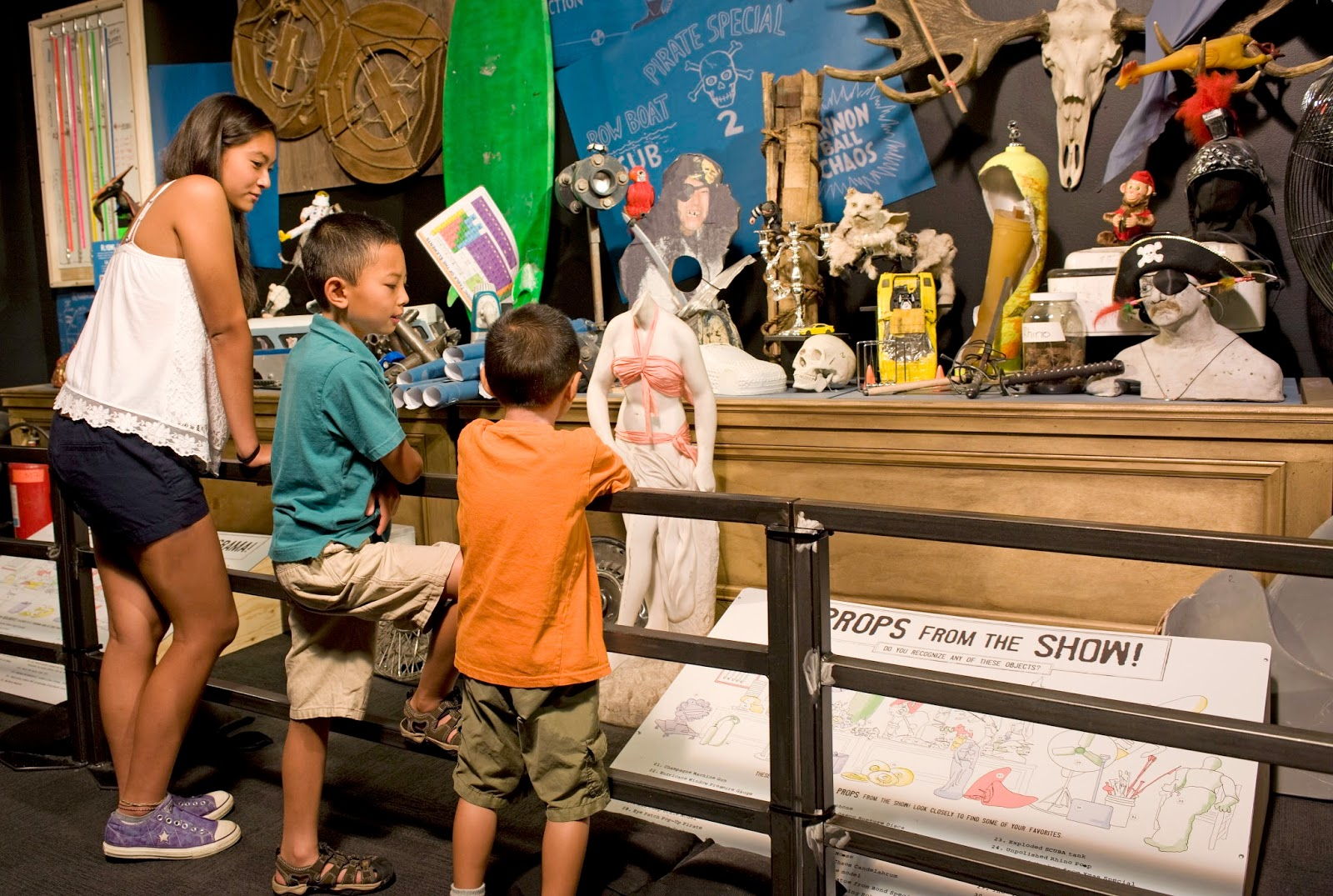 Macaroni kid visits the new exhibit mythbusters macaroni kid the mythbusters exhibit and show is a truly amazing experience the show used volunteers from the audience to conduct an experiment to see whether it was malvernweather Images