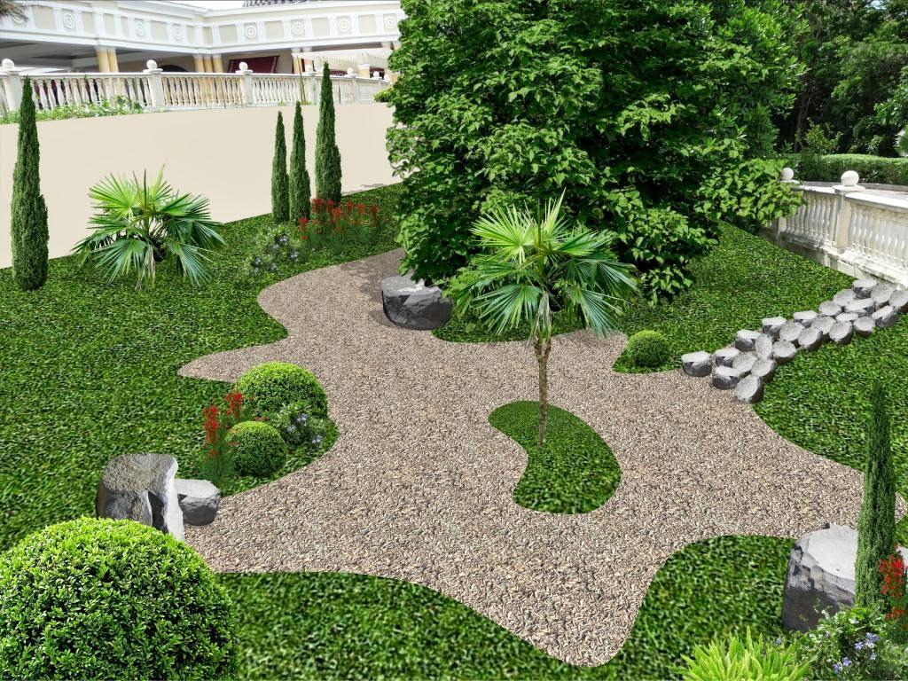 Jardines cl sicos entradas y accesos hotel iberostar for Ideas jardines exteriores
