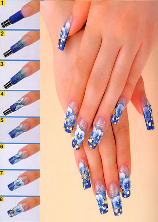 Most Popular Acrylic Nail Art Popular Nail Art