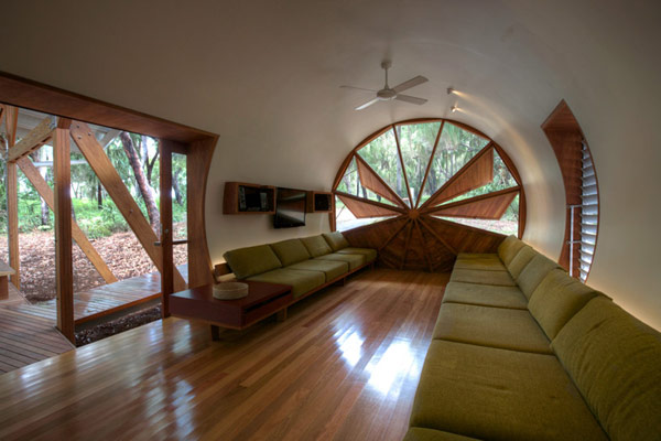 Craft1945 camping pods for Amazing houses inside