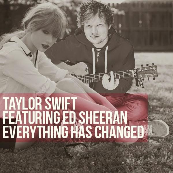 Chord Guitar Everything Has Changed - Taylor Swift ft Ed Sheeran