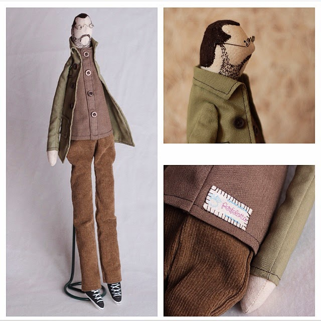 тильда, кукла в стиле тильда, текстильная кукла, подарок, ручная работа, сделано руками, Меламед
