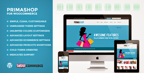 PrimaShop – Clean WooCommerce WordPress Theme