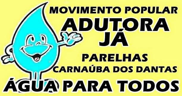 SEM ÁGUA NAS TORNEIRAS DESDE JANEIRO DE 2013