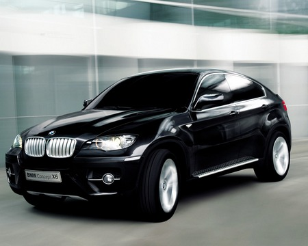 Auto Manual Car: BMW X6