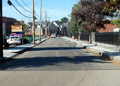 paving on Emmons Street and Summer Street will be delayed due to the weather forecast