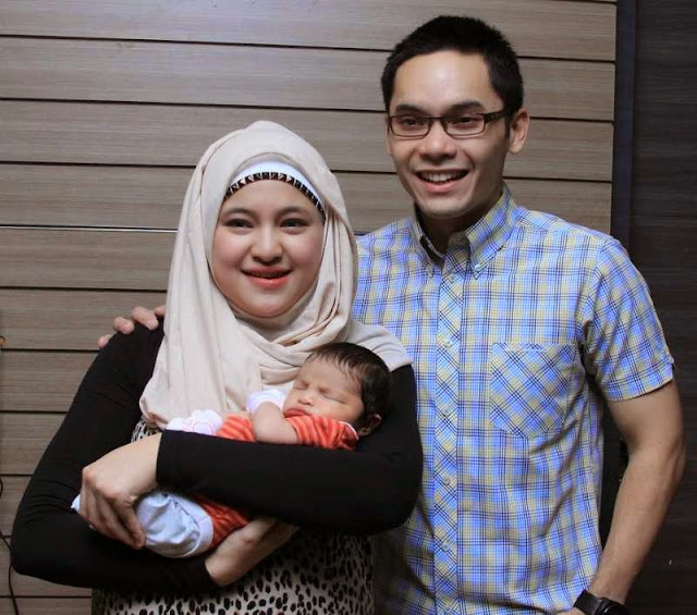 Foto keluarga Ben Kasyafani Marshanda Anak