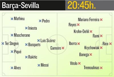 Barcelona - Sevilla SuperCup 2015