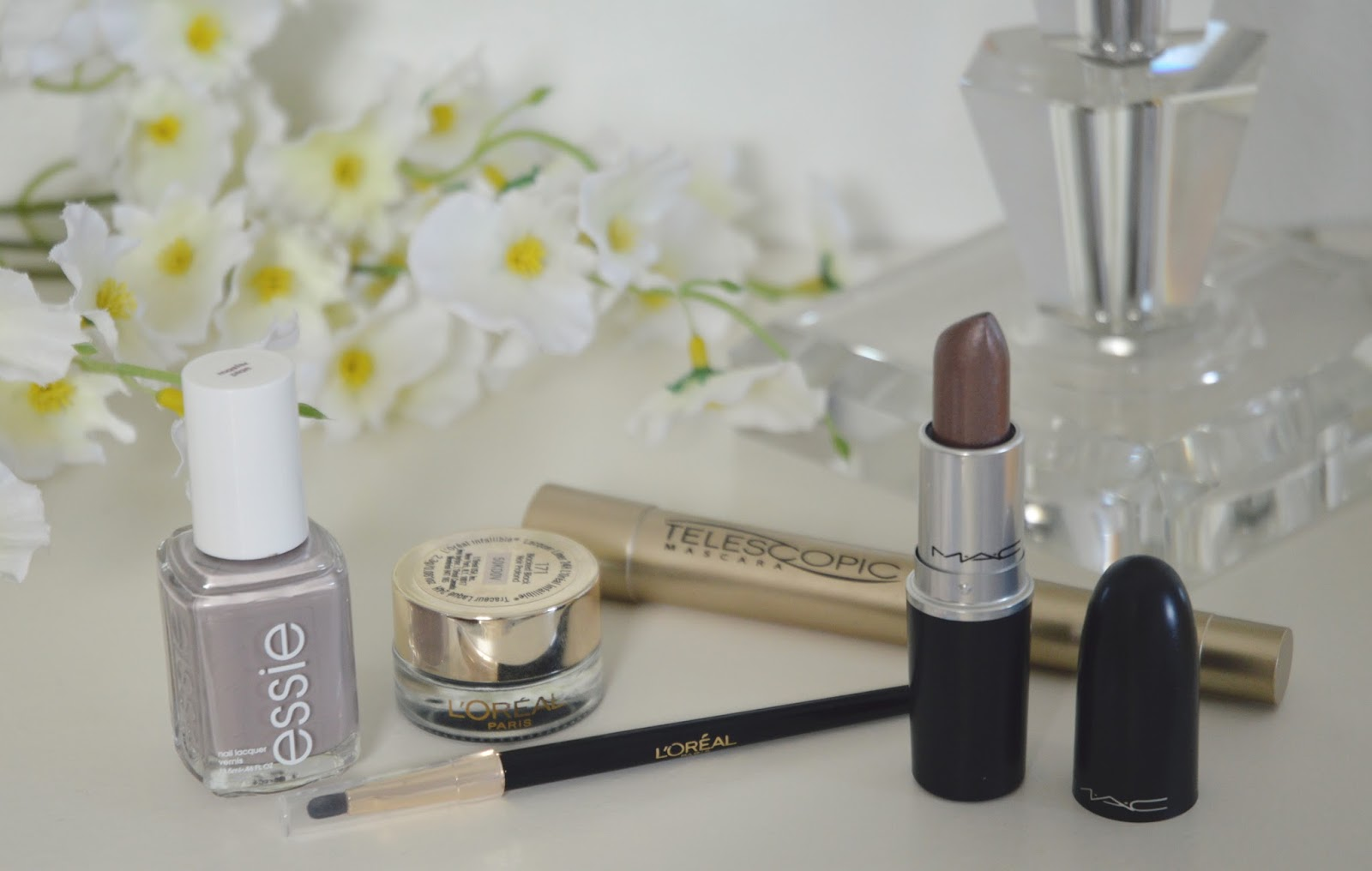 loreal and mac makeup beauty