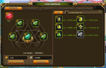 Lunaria Story Gems