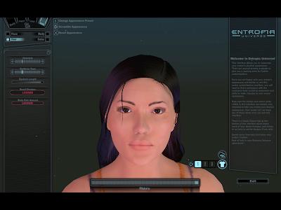 Entropia Universe - Character Customization Hair
