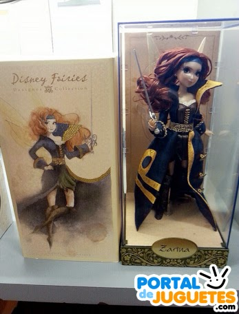 muneca hada zarina disney fairies designer collection