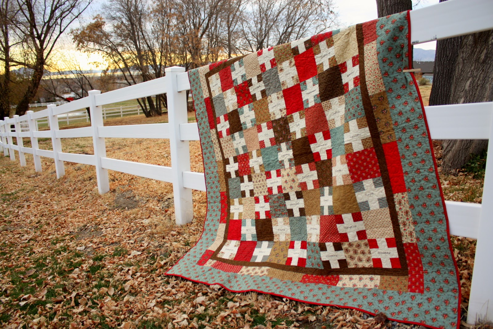Quilt Gratitude+quilt+fence