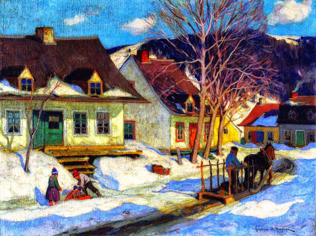 Clarence gagnon en plein air painter tutt 39 art for Painting for sale by artist