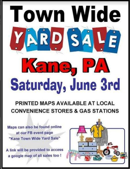 6-3 Kane Town Wide Yard Sale