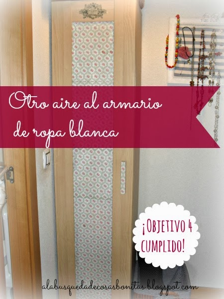 Decorar armario con decoupage