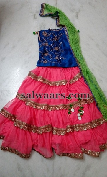 Fancy Lehenga with Duppatta