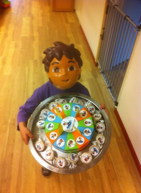 Diego traktatie taart