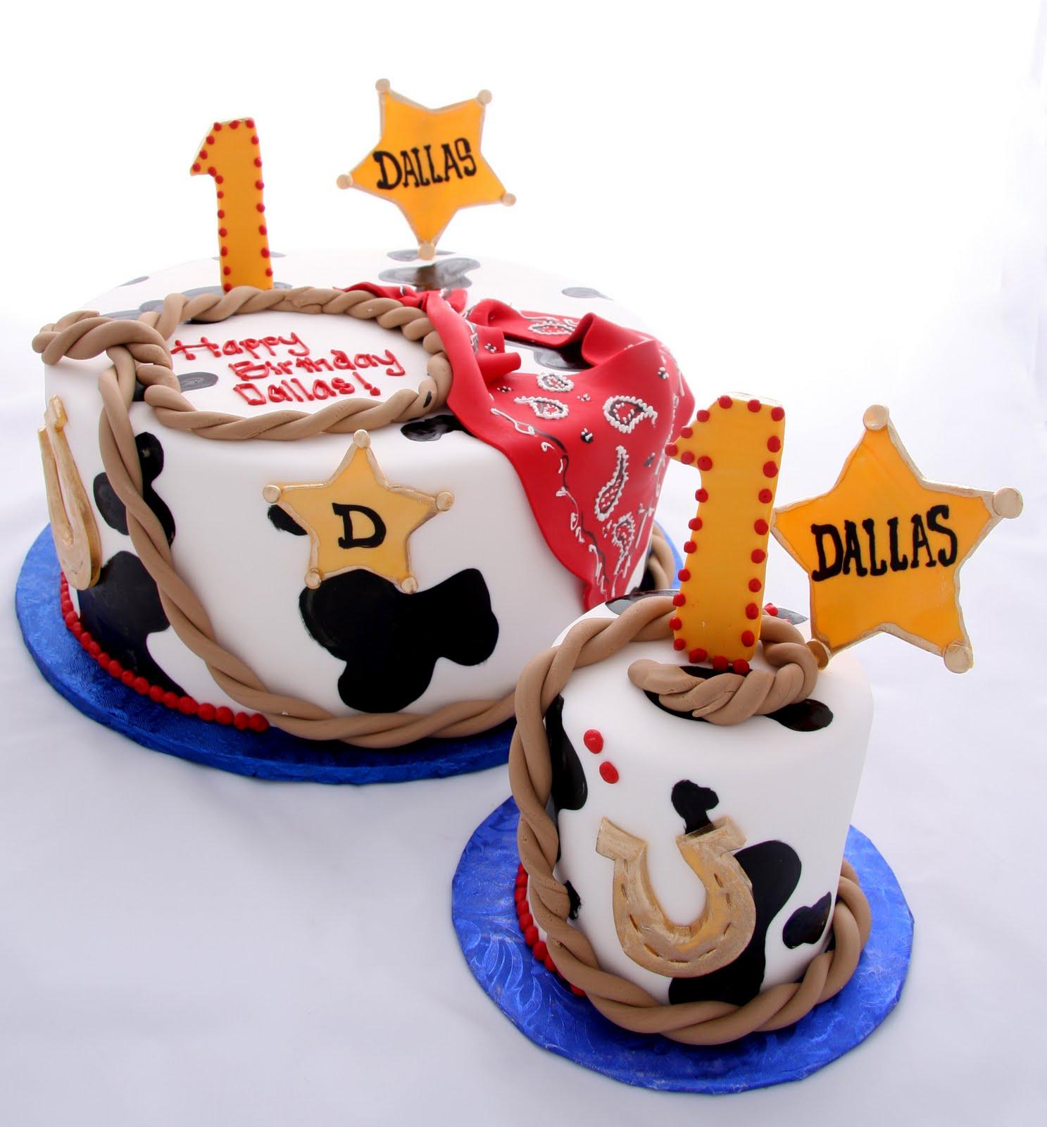The Crimson Cake Blog Dallas The Cowboy Birthday Cake