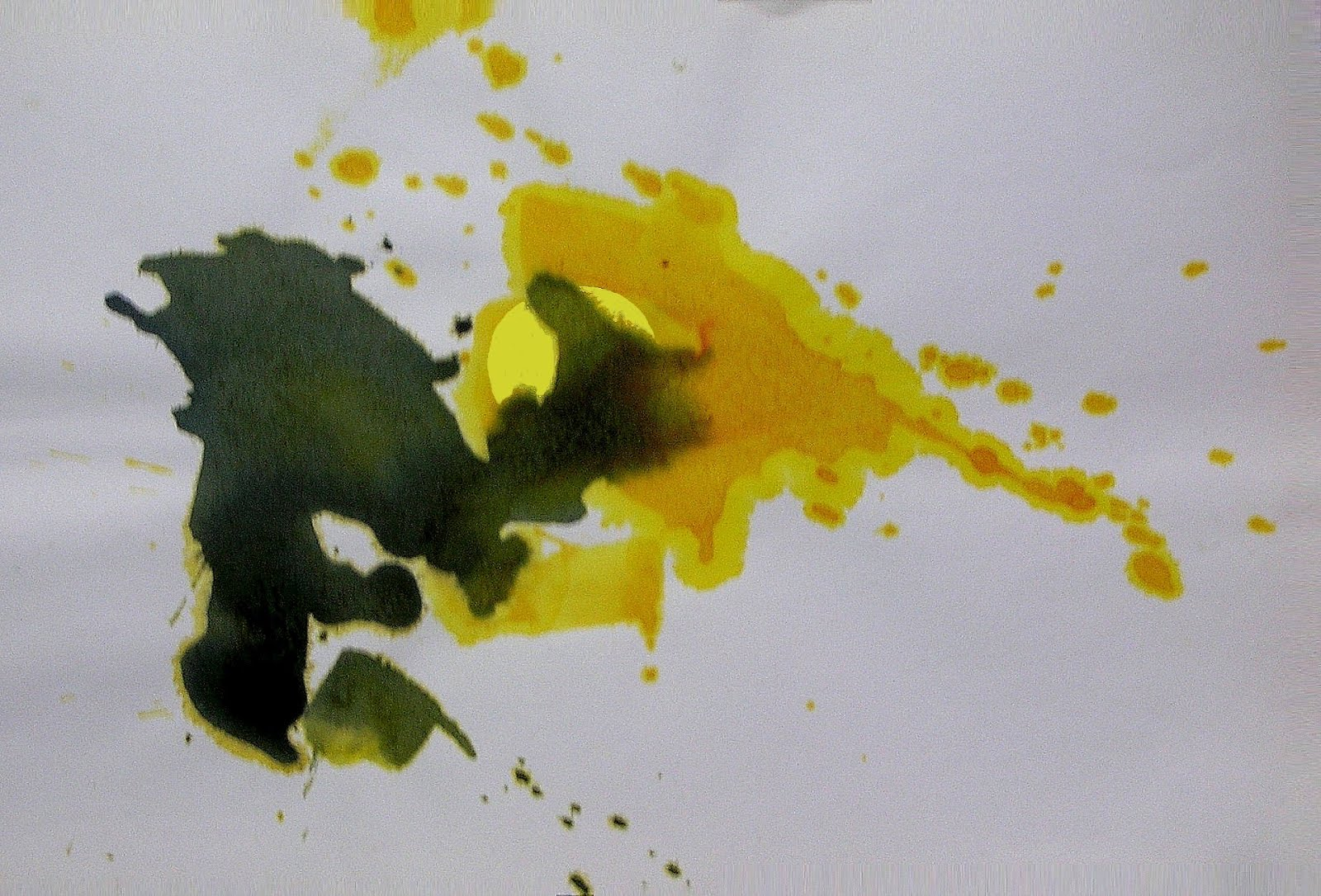 Amarillo, ocre, negro I. (Aurora)
