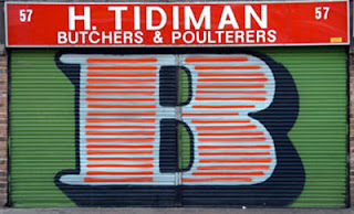 graffiti alphabet letter B