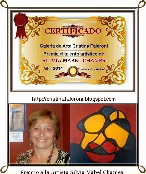 Silvia Mabel Chames - Premio