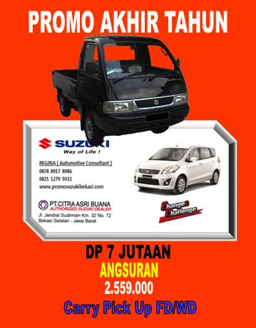 Promo Suzuki Carry Pick Up dengan DP Murah,Cicilan Ringan dan Bunga rendah di 0878 8917 8986/0821 1279 9332