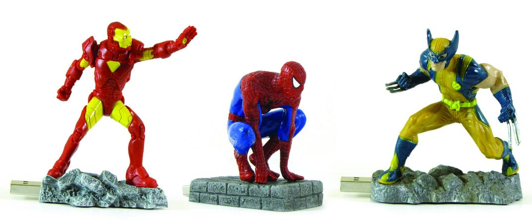 venta usb marvel MARVEL+USB+SPIDERMAN+WOLVERINE+IRONMAN