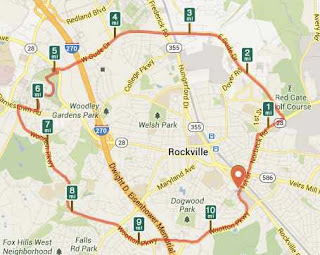 Climbing My Family Tree: Map of Carl Henn Millenium Trail