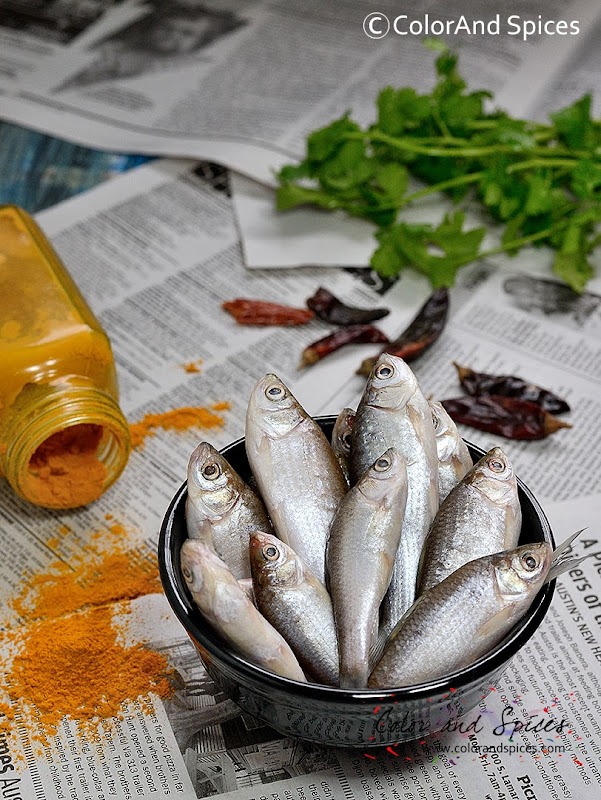 Color and Spices: Spicy fish curry...puNti macher jhal