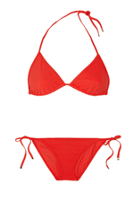 gucci red hot bikini