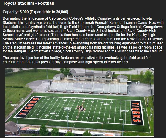 Scott County Cardinals Will Be At Georgetown College @ Toyota Stadium