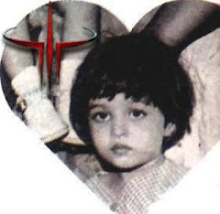 aishwarya rai childhood photos with cute smile age around 4