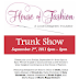 House of Fashion hosts designer trunk show