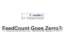 Feedcount goes zero