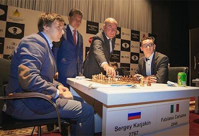 Grand Prix d'échecs de Bakou : La série de victoire continue pour Caruana Photo © Maria Emelianova
