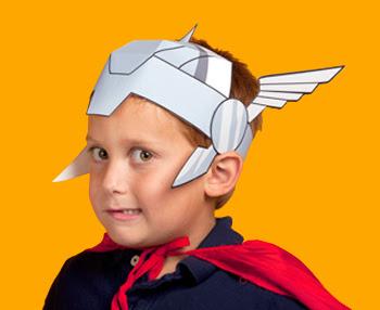 Printable Thor Helmet