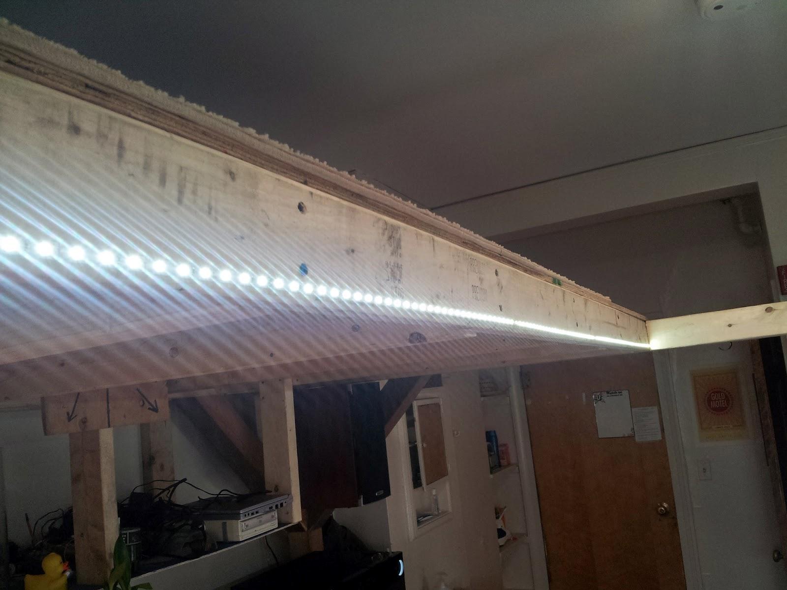 Led Strip Keuken : Decoreren met led strip verlichting keukens met energy efficient