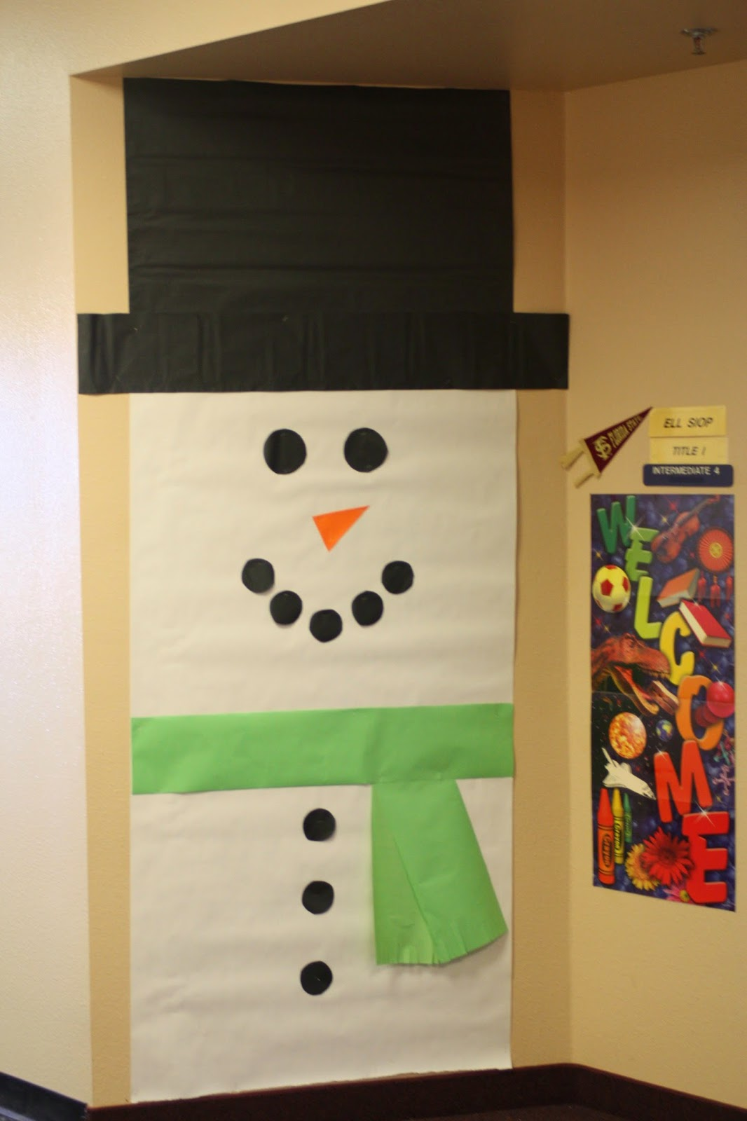 Classroom Door Decoration Ideas For January : Adventures and misadventures with the boniella family