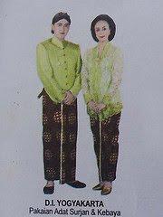 Pakaian Adat Tradisional Yogyakarta