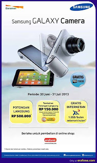 Promo Samsung Galaxy Camera
