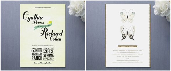 In addition to wedding invitations they also offer wedding programs